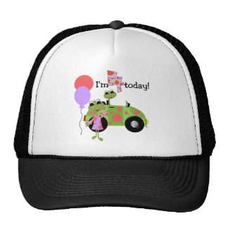 Mod Frogs 4th Birthday Tshirts and Gifts Cap