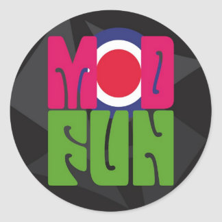 mod fun logo sticker