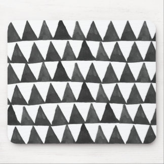 Mod Geometric Triangles Mouse Pad