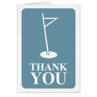 mod golf : thank you cards