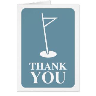 mod golf thank you cards