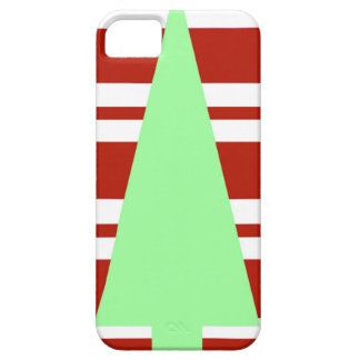 Mod Green and Red Christmas Tree iPhone 5 Covers