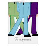 mod GROOMSMEN THANK YOU custom card