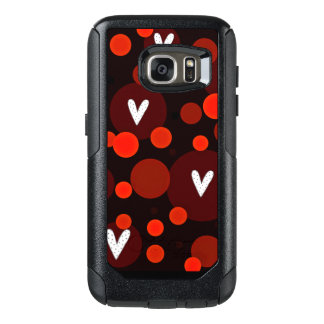 Mod-Hearts-Red-APPLE-SAMSUNG OtterBox Samsung Galaxy S7 Case