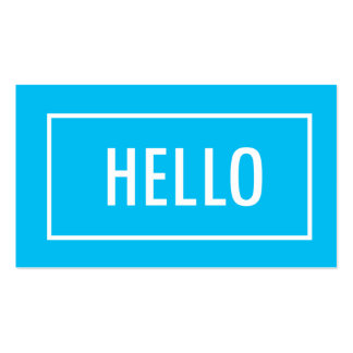 Mod Hello | Business Cards Business Card
