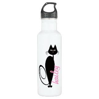 Mod Kitty Personalized Liberty Bottle