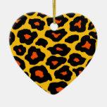 Mod Leopard Ornament