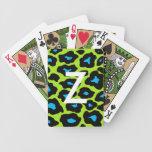 Mod Leopard Print Deck Of Cards