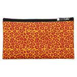 Mod Leopard Print Makeup Bag
