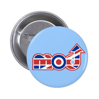Mod Logo 2 Pinback Buttons