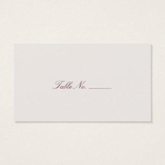 Mod Mehandi Wedding Escort Cards