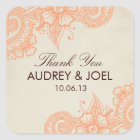 Mod Mehandi Wedding Favour Stickers