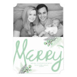 Mod Merry Berries Holiday Photo Card