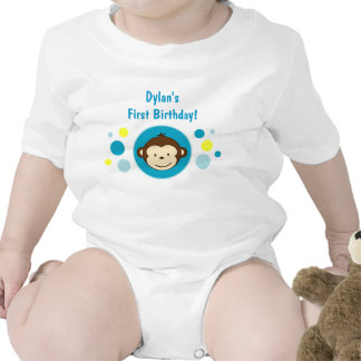 Mod Monkey Baby  Creeper T-Shirt