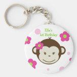Mod Monkey Key Chain