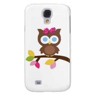 Mod Owl Design Birthday Party Invitation Favors Galaxy S4 Covers