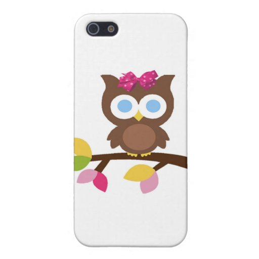 Mod Owl Design Birthday Party Invitation Favors Cases For iPhone 5