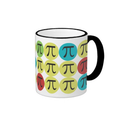 Mod Pi  - Colorful Pi Gift Coffee Mugs