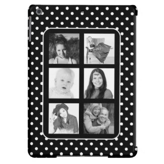 Mod Polka Dot Instagram Photos Collage iPad Air Cover