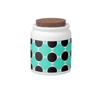 MOD Retro Pattern in Teal Candy Dishes