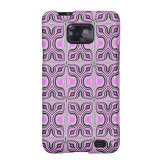 mod retro pink pattern samsung galaxy SII covers