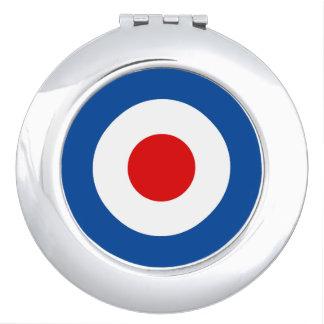 Mod Roundel Round Compact Mirror