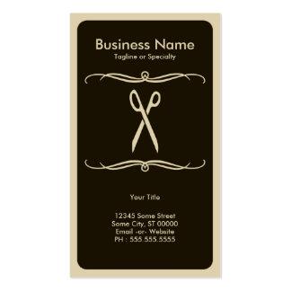 mod scissors business cards
