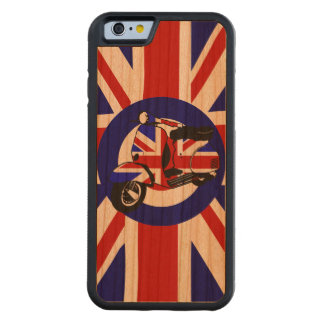 mod scooter on target Uj Background Cherry iPhone 6 Bumper Case