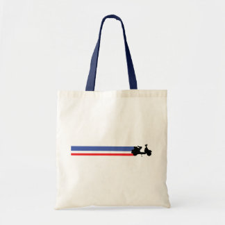 Mod Scooter Tote Bag