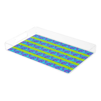 Mod Scribble Stripe Serving Tray