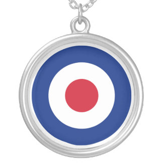 MOD SILVER PLATED NECKLACE