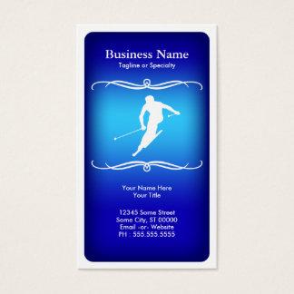 mod ski business card
