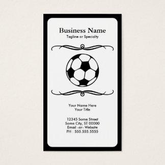mod soccer business card