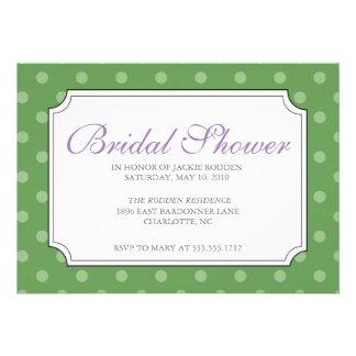 mod squad bridal shower personalized invitation