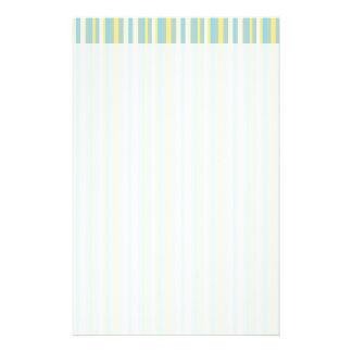 Mod Stripes Stationery Paper