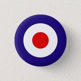 Mod Target 3 Cm Round Badge