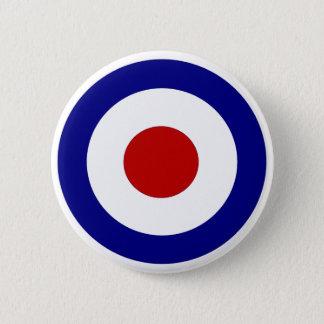 Mod Target 6 Cm Round Badge