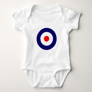 Mod Target Baby Bodysuit