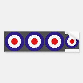 Mod Target Bumper Sticker