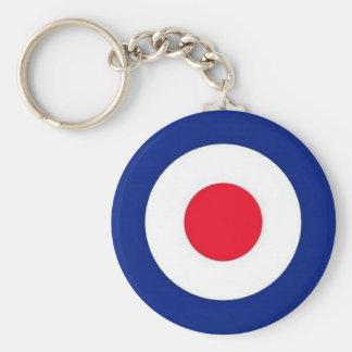 Mod Target Design Key Ring