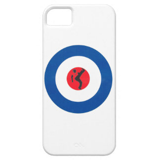 Mod Target design with Northern Soul dancer Case For The iPhone 5
