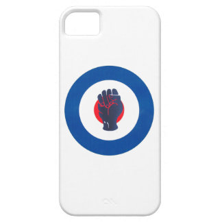 Mod Target design with Northern Soul Fist iPhone 5 Case