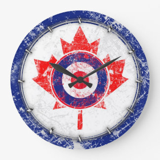 MOD Target Grunge Canada Wild Wallclock