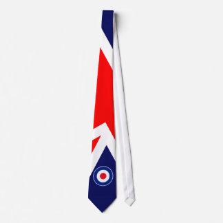 Mod Target on UK Flag Tie