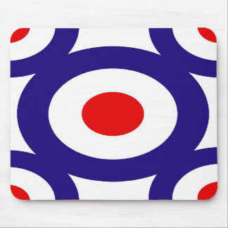 Mod Target Pattern Mousepad