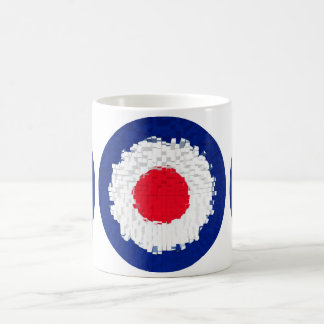 Mod Target with effect applied Basic White Mug