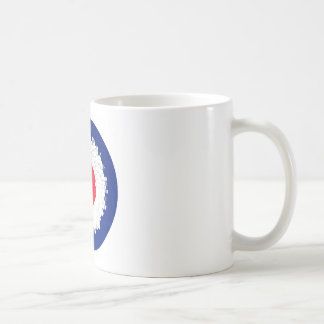 Mod Target with effect applied Coffee Mug
