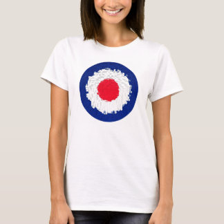 Mod Target with effect applied T-Shirt