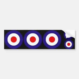 Mod Targets Car Bumper Sticker