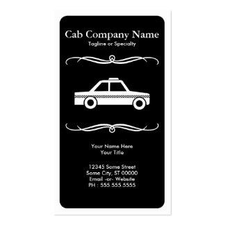 mod taxi cab business card templates